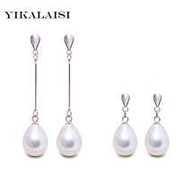 Fashion Brand Natural Pearl Statement Earrings Outstanding Women Long Ea... - $10.00