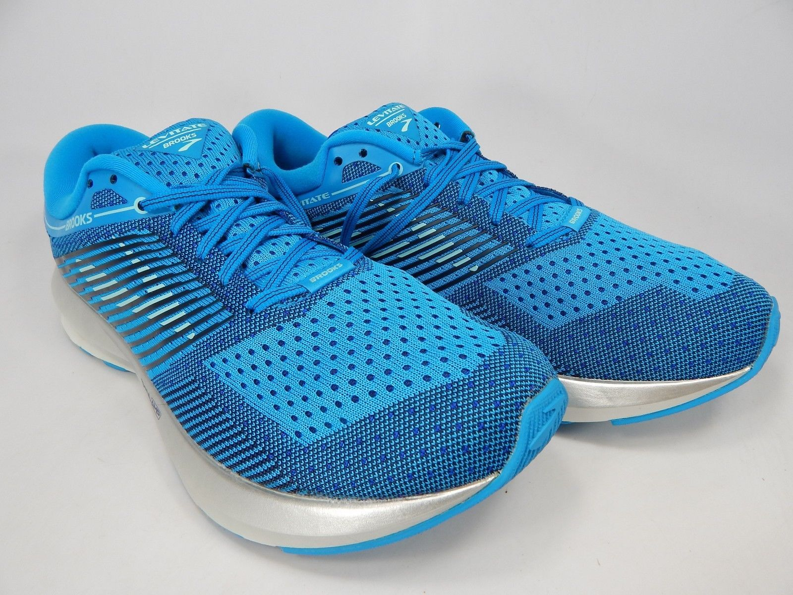Brooks Levitate Size: US 11 M (B) EU 43 Women's Running Shoes Blue 1202581B417
