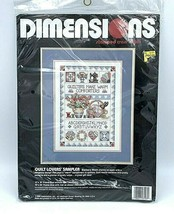 Dimensions Stamped Cross Stitch Kit Quilt Lovers' Sampler  3103 - $18.76