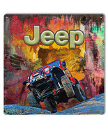 12x12 Jeep Reproduction Sign By Artist Phil Hamilton - $23.76