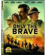 Only the Brave DVD 2018 Brand New Sealed - $2.50