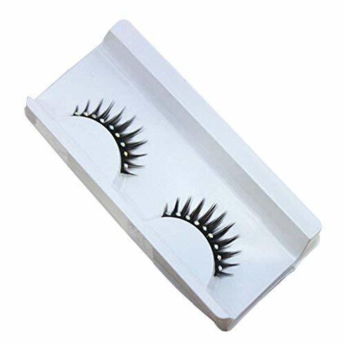 3 PCS Shinning False Eyelashes with Rhinestone Decoration Big Eyes Eyelashes