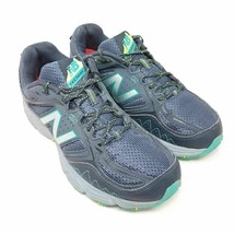 New Balance Womens Tech Ride 510 V3 Trail Running Shoes Gray WT510LB3 Lace Up 9B - $23.87