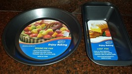 (2) Piece UNICO Non-Stick Loaf and Round Pie Pan Set ~NEW~ - $14.99