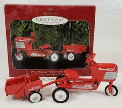 Hallmark 1955 Murray Tractor & Trailer Kiddie Car Classics NEW in Box - $24.99