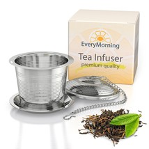 Deluxe Tea Infuser Loose Leaf Tea Single or Multi Cup Stainless Steel St... - £6.89 GBP