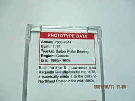 Micro-Trains Stock # 02500206 Ontario Northland 50' Rib Side Boxcar N-Scale image 4