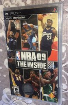 Nba 09: The Inside (Sony Psp, 2008) New Sealed=Fast Free Ship= - $9.40