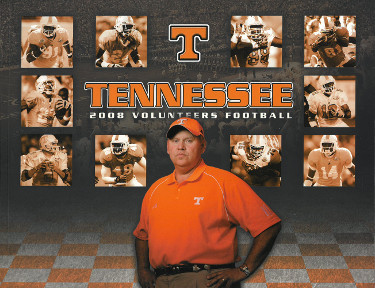 Tennessee Volunteers 2008 College Football Official Media Guide/Program- excelle
