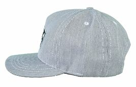 Milkcrate Athletics Life's A Bitch Black White Striped Snapback Baseball Hat NWT image 5