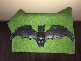 """Vintage Halloween 22"""" Union Don Featherstone Black Blow Mold Bat Yard De... - €33,92 EUR"""