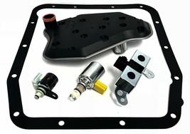 AODE 4R70W Filter Kit Solenoid Set EPC TCC Lockup Dual Shift Solenoid 19... - $94.84