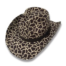 Cowboy Cowgirl Hat Cheetah Leopard Rodeo Western One Size West Garden Sun - $21.99