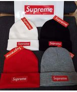 Supreme Classic Logo Beanie Winter Hat Brand New with Tags Fast Free Shi... - $29.95