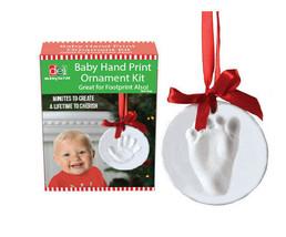 Baby Hand Print Ornament Kit Keepsake Memory Footprint DIY Clay Tool Chr... - $14.84