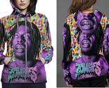 Flatbush zombies hoodie zipper fullprint for women thumb155 crop