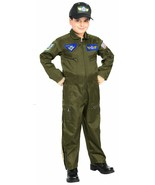Rubies Air Force Fighter Pilot USA Boys Children Halloween Costume 882701