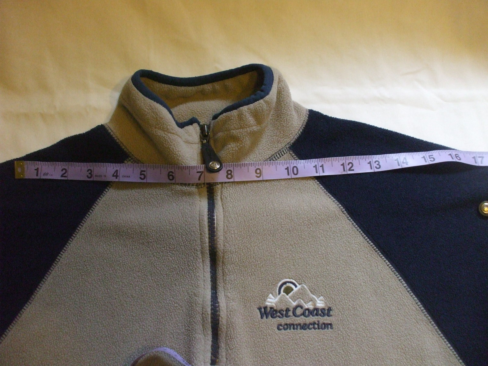 Long Sleeve Sweater Brown / Blue  West Coast Connection 1979 Size  7-8