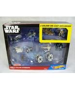 STAR WARS HOT WHEELS HERO & VILLAIN STARSHIP 11 PK DIE-CAST TARGET EXCLU... - $39.59
