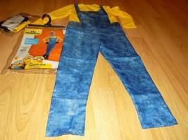 Size Medium 8-10 Minion Bob Halloween Costume Jumpsuit Headpiece Goggles... - $32.00
