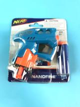 Nerf for Nanofire Blue Blaster With 3 Elite Darts Hasbro Age 8+ #3435 - $5.65