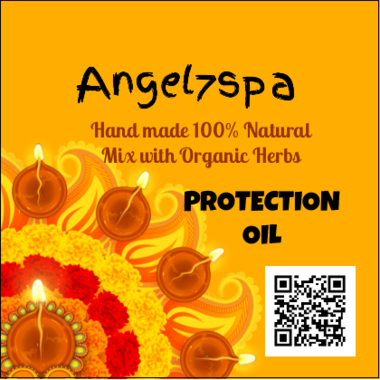 Spellbound Protection oil hand made by angel7spa