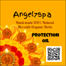 Spellbound Protection oil hand made by angel7spa - $10.99
