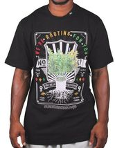 LRG Fresh Outdoors We're Rooting For You Weed Plant Marijuana Growing T-Shirt NW image 4