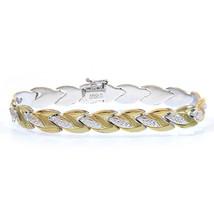 "Gold Plated Silver Bracelet Fancy Link 7""   - $69.29"