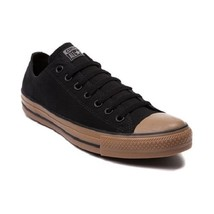 Converse All Star Lo Sneaker Black/Gum Lace Up Casual Shoe Multiple Size 143738F - $59.95