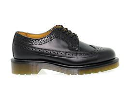 Flat shoe DR. MARTENS 3989 W in black leather - Women's Shoes - $194.94