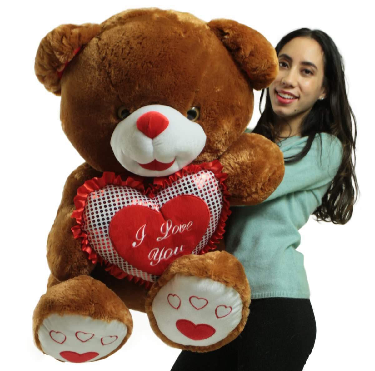 188b5c3d82b Giant Soft Brown Teddy Bear 30 Inches and 25 similar items. E2402331 e17b  4023 8153 bc3bac6c1cfc