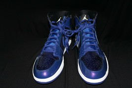 Nike Air Jordan 1 Retro High Deep Royal Patent Leather 332550-420 Size 18. - $82.44