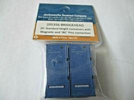 Jacksonville Terminal Company # 205356 Bridgehead 20' Standard Container (N image 3
