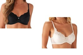 Breezies Shimmer Stripe and Lace Underwire Bra - $14.99