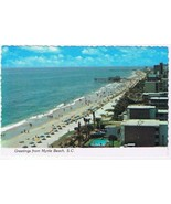 South Carolina Postcard Myrtle Beach The Strand - $2.12