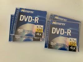 Memorex Dvd -R 4.7gb 120 - $9.90