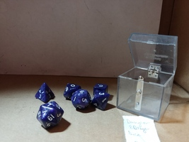 Games Dungeons & Dragons Multi-sided Dices Lava Purple - $4.00