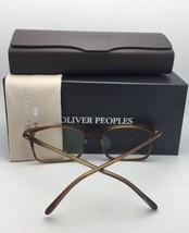 New Oliver Peoples Eyeglasses Tosello 5335U 1474 52-18 Matte Cocobolo Tortoise - $324.95