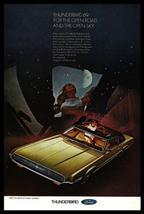 1969 Ford Thunderbird AD Landau Sunroof Gold Black Roof Auto Moonlight - $12.99