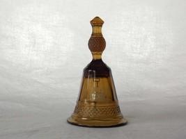 Viking Glass Mount Vernon Brown Hand Bell #7836, Diamond Point, Dinner B... - $37.00