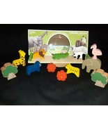 Friendly Seesaw~ Ecology Wooden Animal Toy~ Montessori Balance Learning Toy - $11.87