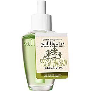 4 Bath & Body Works Fresh Balsam Home Fragrance Refill Bulb 0.80 oz