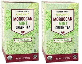 Trader Joes Moroccan Mint Green Tea - 2 pack - $13.14