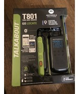 Motorola Solutions T801 Talkabout Go Locate Two-Way Radios Black/Green - $71.05