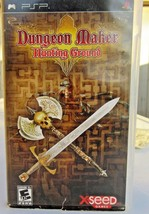 Dungeon Maker: Hunting Ground (Sony PSP, 2007)  - Free Ship! - $12.19