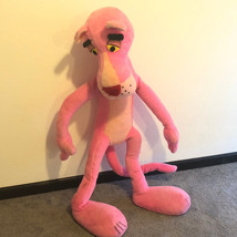 PINK PANTHER STUFFED ANIMAL HUGE PLUSH 1980 mighty star united artists 4... - $145.13