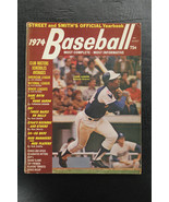 1974 Street and Smiths Baseball Yearbook With Hank Aaron on the cover Br... - $44.00