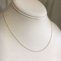 """Tiffany & Co Sterling Silver 16"""" Frank Gehry Chain Necklace - $79.99"""