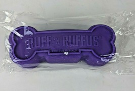 Ruff n Rufus Purple Doggy Squeak Toy New - £7.91 GBP